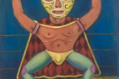 El Luchador, 2017 Oil on canvas 24c20 Inch