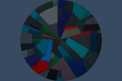 Serie movimiento interior 1 Oleo Tela 90 Cms
