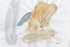 Blanco sobre blanco, 2004, Gouache,papel 31x28cms