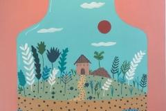 La Nova Casa, 2017, acrilico, tela 50x80 cms