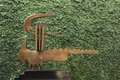 Marrana, 2006, Bronce, Acero, 57x13.4x44 Cms